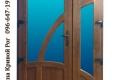 metalloplastikovye dveri na dve stvorki