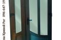 plastikovye dveri na dve stvorki