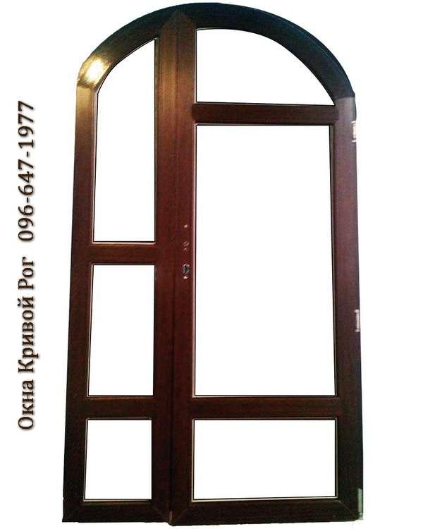 metalloplastikovye dveri arochnie