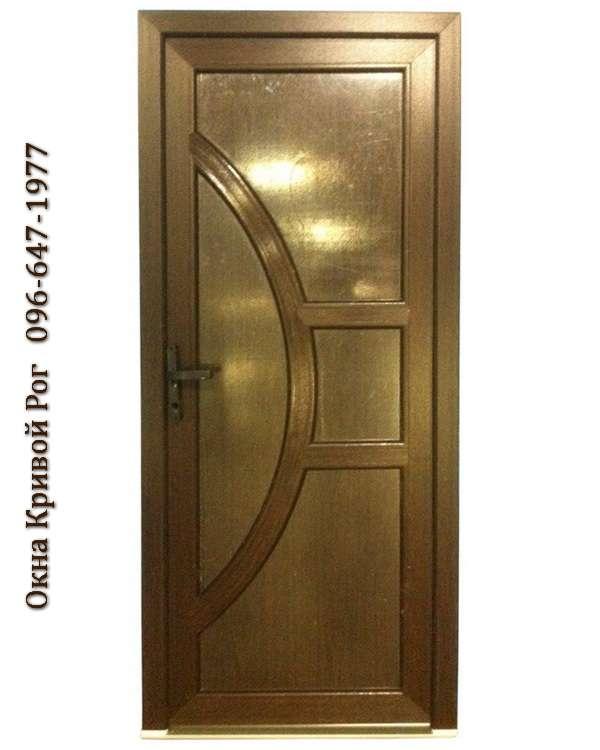 Заказ цветных металлопластиковых дверей в Кривом Роге любой сложности