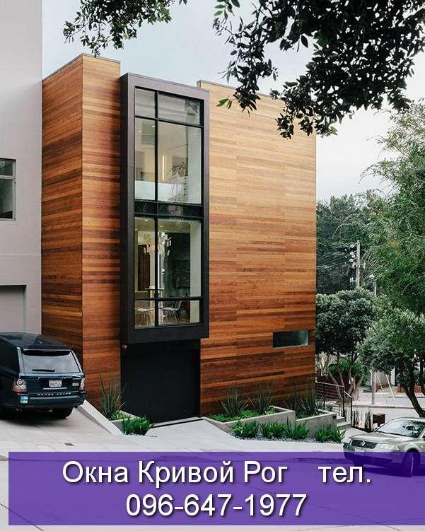 застеклить дом окнами из пластика и алюминия