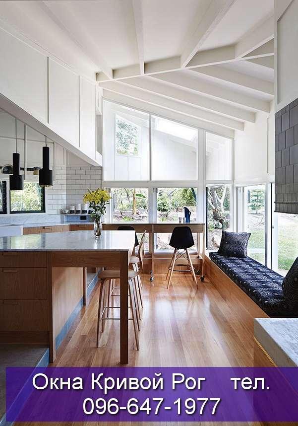 Окна из металлопластика для дизайнерских домов