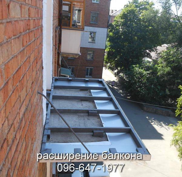 rasshireniye-balkona Krivoy Rog