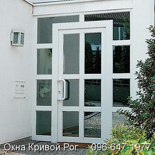 Двери металлопластиковые Кривой Рог