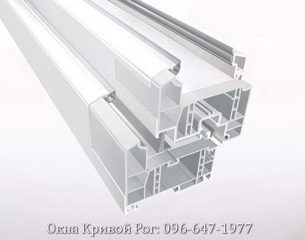 Профиль окна Rehau Geneo