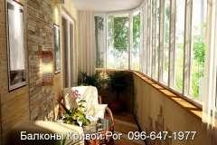 Отделка бамбуком и камнем на дизайнерских балконах - дело привычное