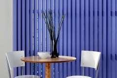 Синие вертикальные жалюзи