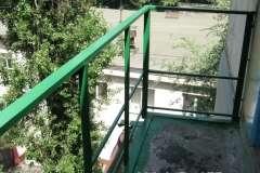 Изготовление новых перил на балкон