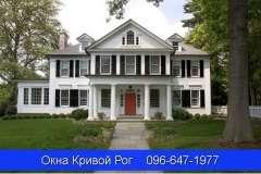 Металлопластиковые окна различных форм для коттеджей и частных домоов