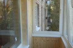 Оригинальная обшивка балкона