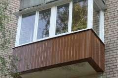 Отремонтировать балкон в Кривом Роге: обшить, застеклить, выполнить внутреннюю отделку