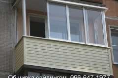 Для некоторых жителей заказ обшивки балкона сайдингом - дело принципиальное