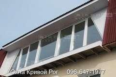 Мансардные окна также активно устанавливают из профиля Виконда
