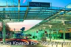 Окна Rehau на вокзале