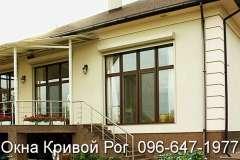 Окна Rehau в частный дом и коттедж