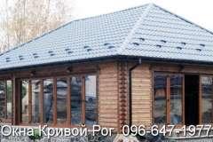 Окна Rehau в деревянных домах