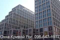 Окна Rehau при многоэтажном остеклении