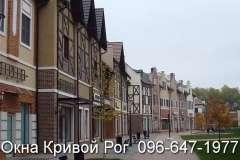 Жилые кварталы с окнами Rehau