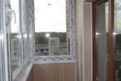 Потолочная сушилка на балконе в нише