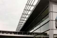 Остекление зданий окнами Steko