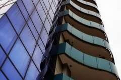 Фасадное остекление алюминиевыми окнами Алюминиевые окна Steko