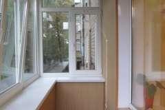 Расширенный балкон намного удобнее не расширенного