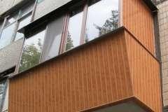 Одностороннее расширение балкона