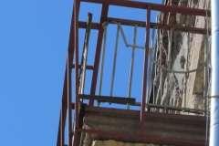 Расширение балкона. Вид сбоку