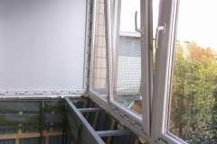 Расширение балкона с выносом рамы на 30 см вперед. Заказать в Кривом Роге