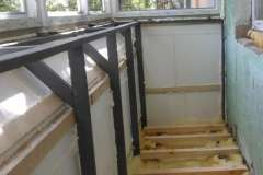 Расширение балкона от компании Комфорт