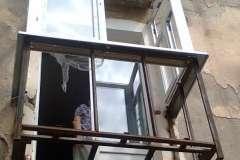 Расширение балкона в сталинке