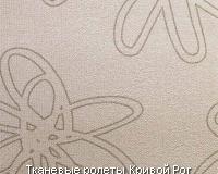 Абстрактные цветы на бронзовом фоне. Модель тканевых рулонных штор Astra Bronze
