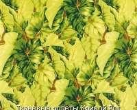 Ткань с цветочным рисунком Leaves