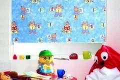 Тканевые роллеты в детскую комнату