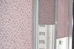 Розовые в пятнистый рисунок вертикальные жалюзи