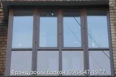 Установка Французских балконов с тонировкой и без