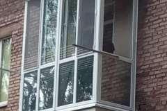 Вот такой вот оригинальный балкон появился на улицах Кривого Рога