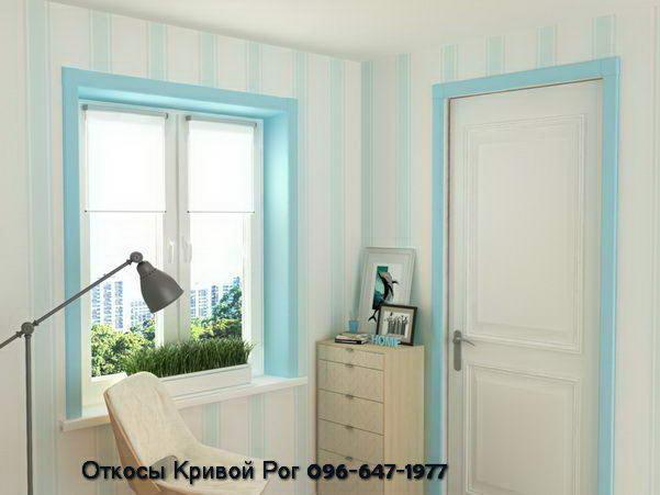 декоративные откосы Qunell на окна и двери для жителей Украины и Кривого Рога