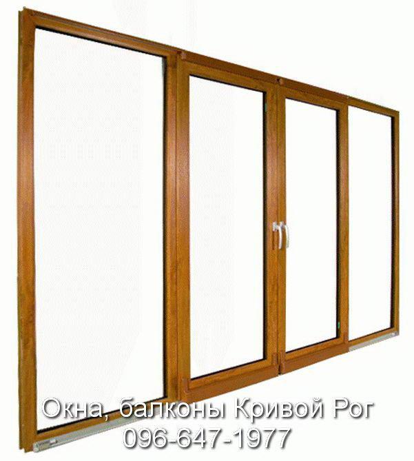 Раздвижные окна и двери с Кривого Рога