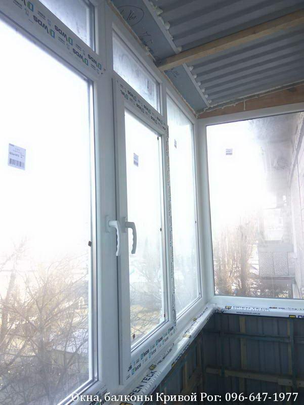 кривой рог застеклить балкон