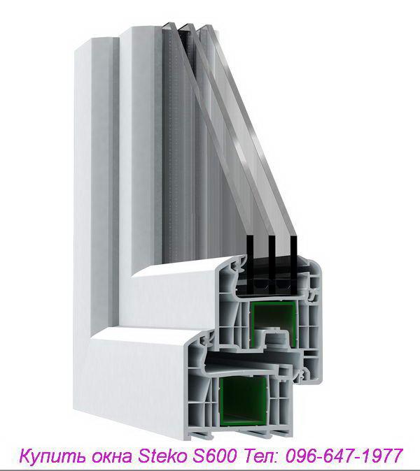 Okna Steko S600