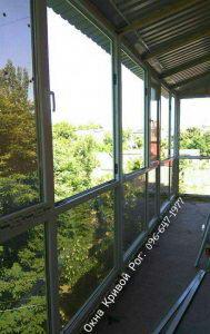 окна для Французского балкона