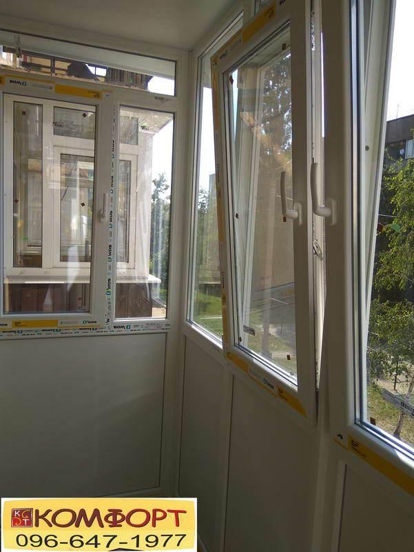 Металлопластиковые окна на Французский балкон