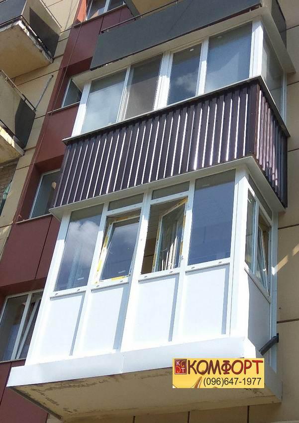 Классический и Французский балкон