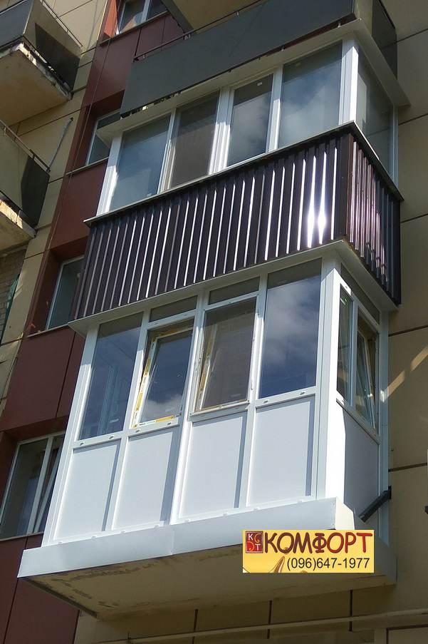 Французская рама на балкон