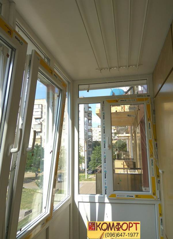 отделка Французского балкона