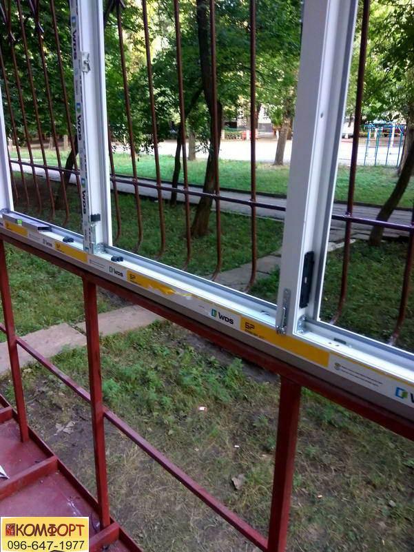 Окна WDS на балкон