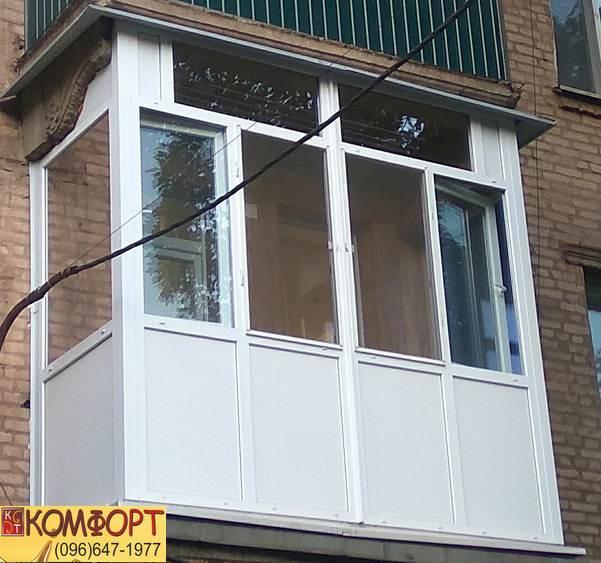 Французский балкон в сталинку