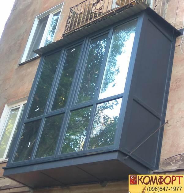 Установка Французских балконов