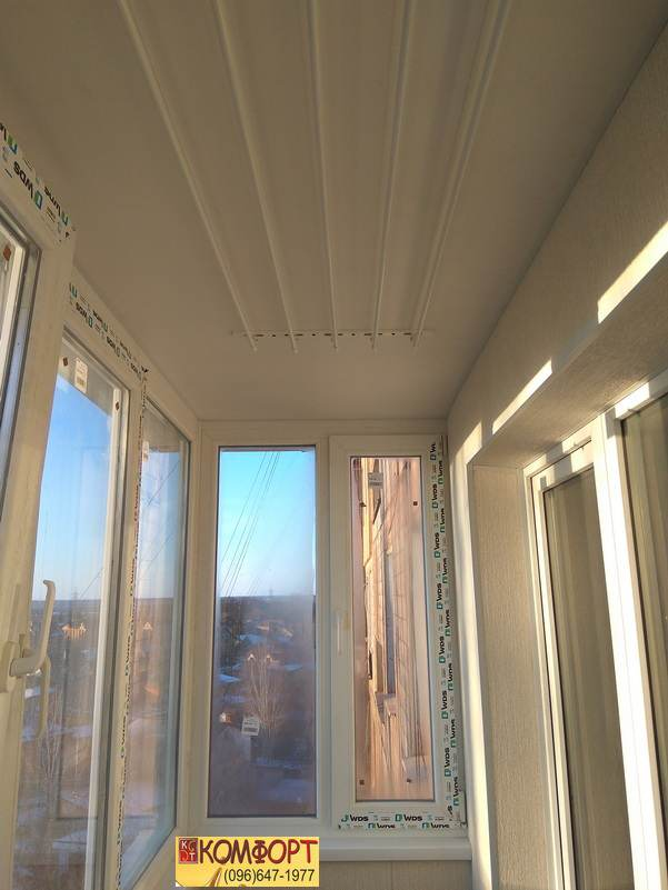 Рама на балкон с расширителем